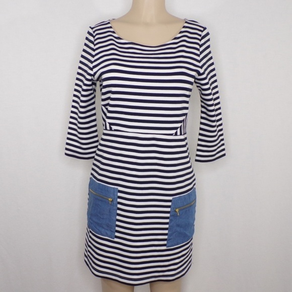 Anthropologie Dresses & Skirts - Anthropologie Tabitha striped Marin Dress, Sz 8